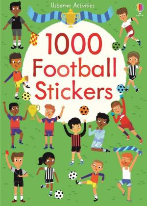 1000 football stickers sticker book