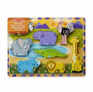 Safari Animals: Chunky Puzzle