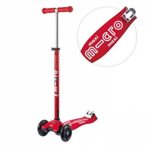 Maxi deluxe scooter red