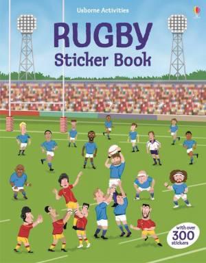 Rugby sticker book