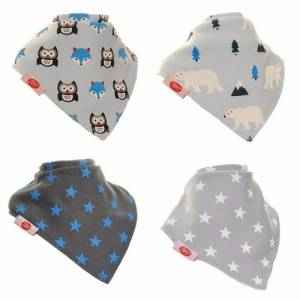Arctic Animals Zippy Bibs