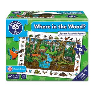 Where in the Wood Jigsaw Puzzle