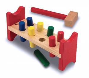 Pound-a-Peg Toy