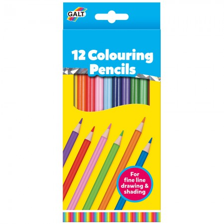 12 Colouring Pencils