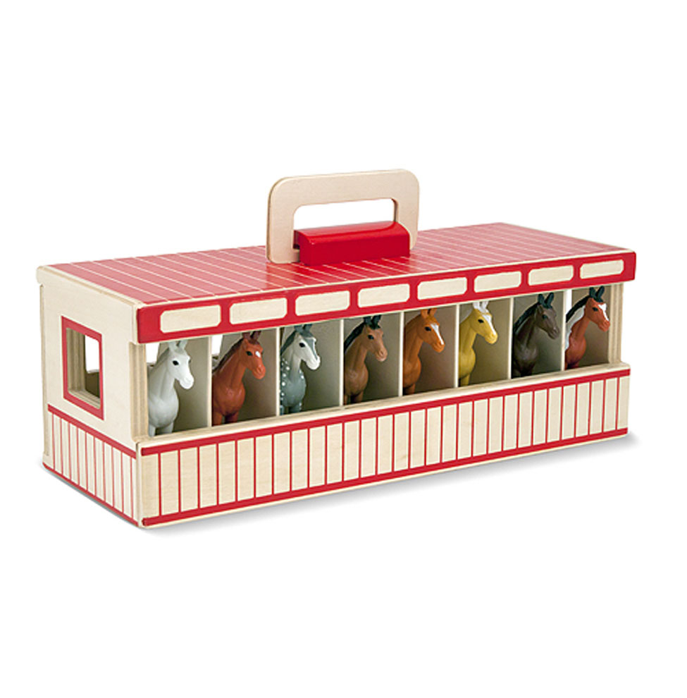Show Horse Stable Play Set By Melissa And Doug