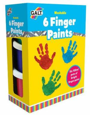 6 Finger Paints Galt Toys