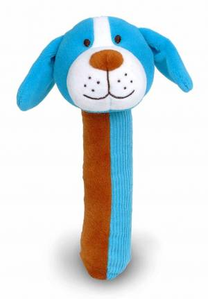 Fiesta Crafts Dog Squeakaboo Rattle