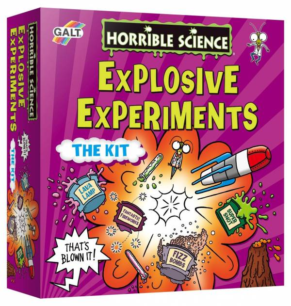 Horrible Science Explosive Experiments Galt Toys