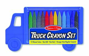 Melissa & Doug Truck Crayon Set - 12 Colors
