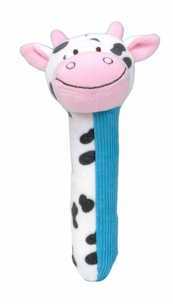 cow squeakaboo toy