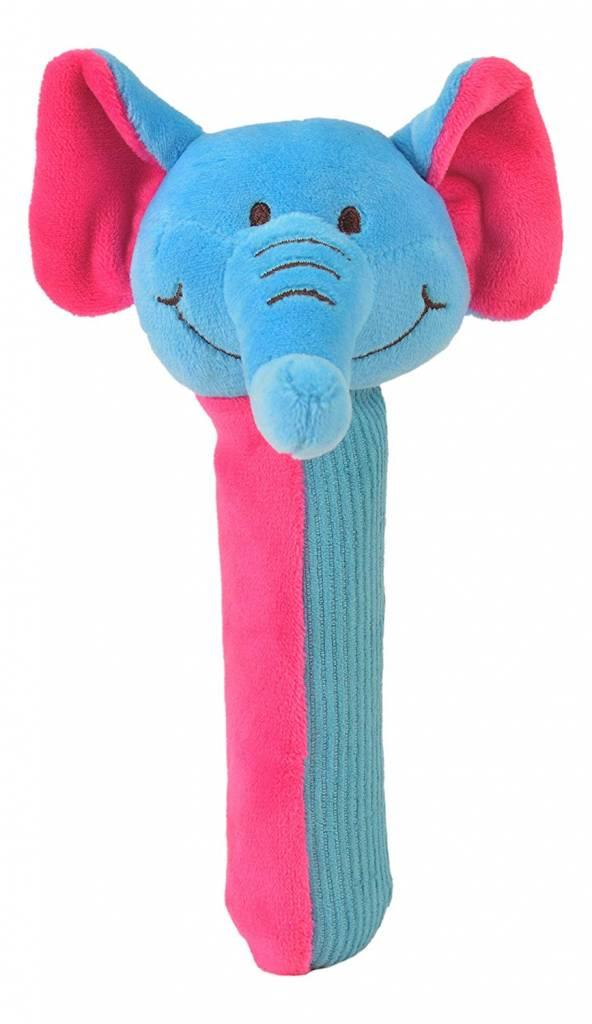 elephant squeakaboo toy