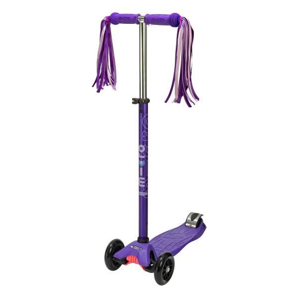 Purple Micro Scooter Ribbon