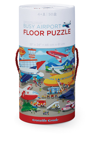 Busy Airport Canister Puzzle