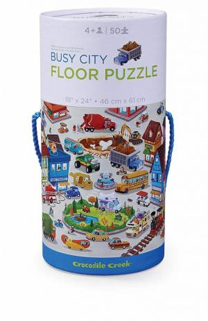 Busy City Canister Puzzle