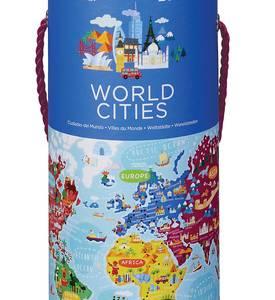 World Cities Jigsaw Puzzle