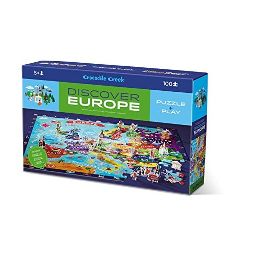 Discover Europe Jigsaw Puzzle