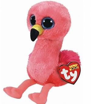 "Ty Beanie Boo Gilda Pink Flamingo 6"""