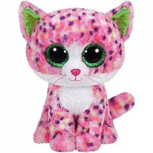 """Ty Beanie Boo Sophie Pink Cat 6"""""""