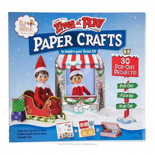 Elf On The Shelf - Paper Crafts