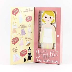 Floss & Rock Magnetic Dress Up Wooden Doll (Alfie)