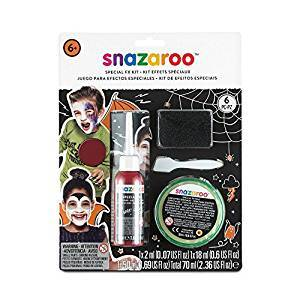 Snazaroo Face Paints Special Effects Kit