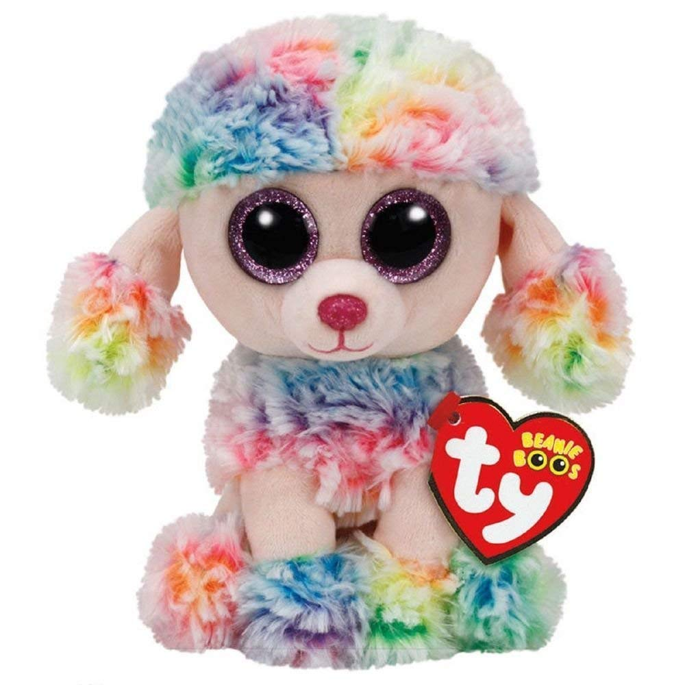 Ty Beanie Boo Rainbow the Poodle 6