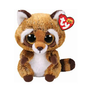 Ty Beanie Boo Rusty The Raccoon 6""