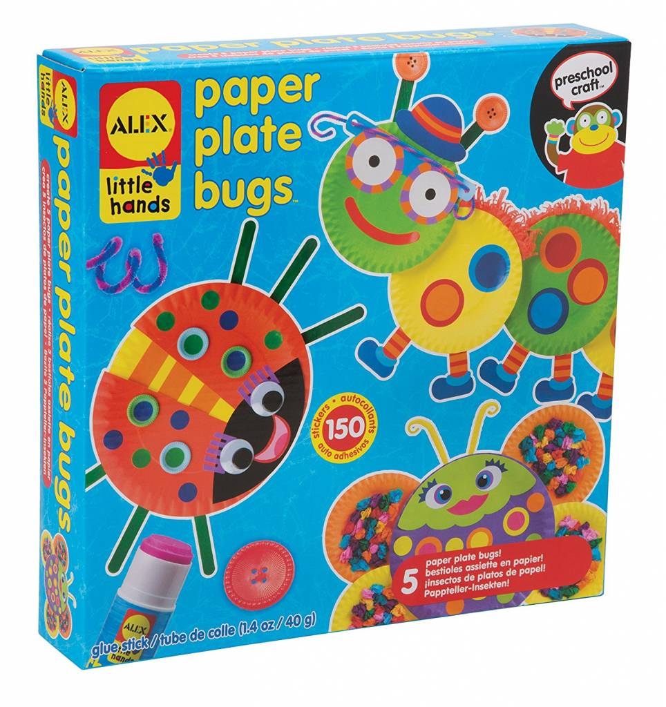 ALEX Toys - Early Learning Paper Plate Bugs