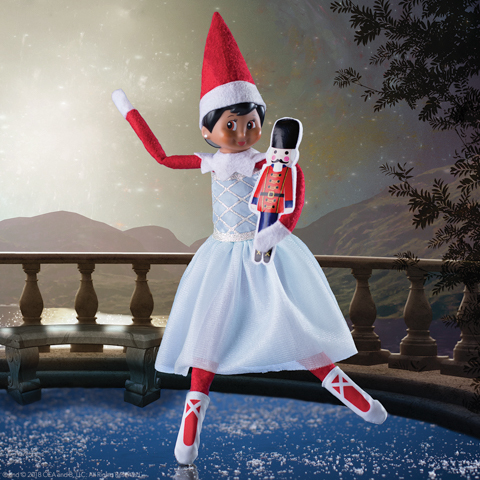 Elf On The Shelf Claus Couture Snowy Sugar Plum Fairy Outfit