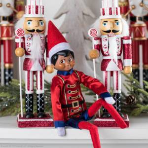 Elf On The Shelf Claus Couture Sugar Plum Soldier Outfit