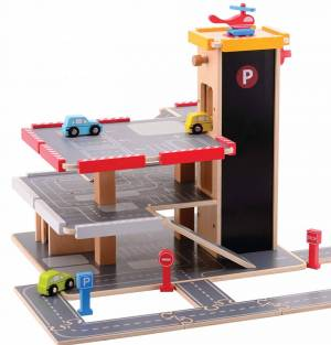 Jumini Wooden Toy Garage