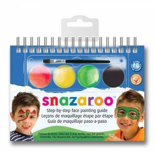 Snazaroo Step By Step Face Painting Guide