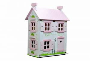 jumini Rose Cottage Wooden Including Full Set of Furniture